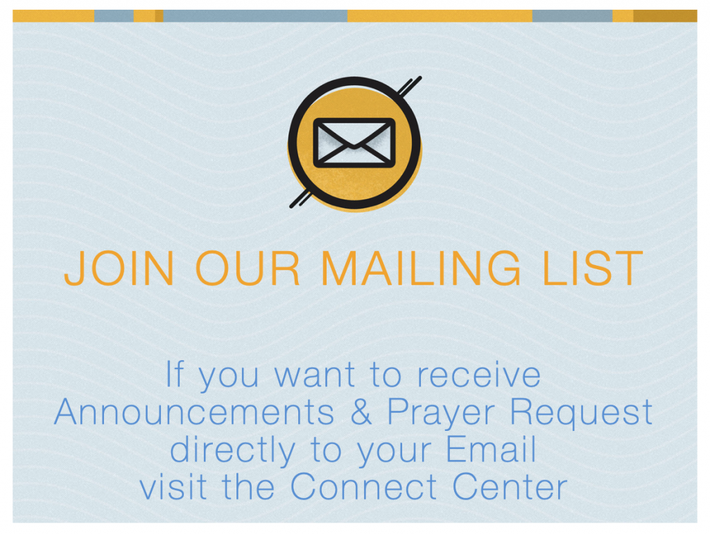 EBC Email Sign-up