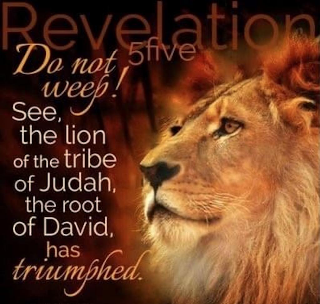 Verse - Revelations 5:5